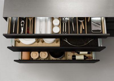 Leicht Küchen Inneneinrichtung Schublade 05