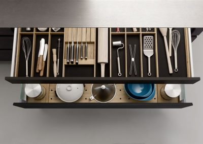 Leicht Küchen Inneneinrichtung Schublade 03