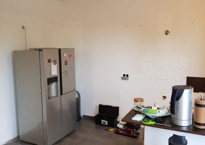Bauphase Wunschküche
