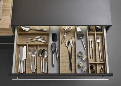 Leicht Küchen Inneneinrichtung Schublade 22