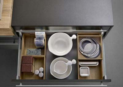 Leicht Küchen Inneneinrichtung Schublade 19