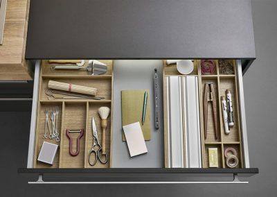Leicht Küchen Inneneinrichtung Schublade 17