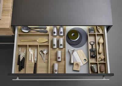 Leicht Küchen Inneneinrichtung Schublade 16