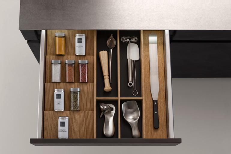 Leicht Küchen Schubladevariante