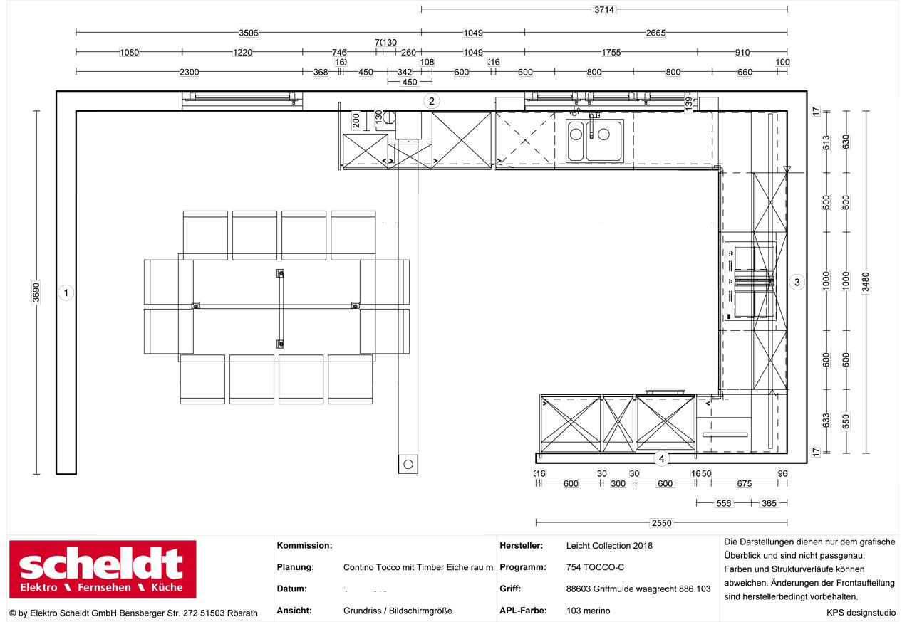 Kleine Wohnkuche Grundriss – Caseconrad.com