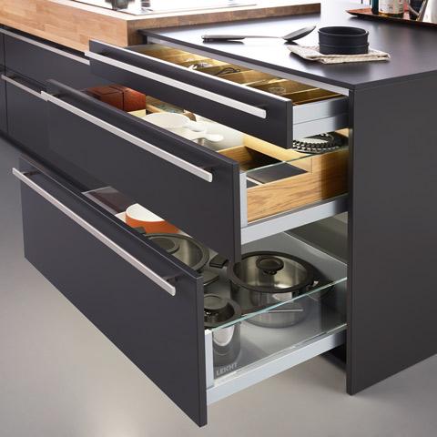 Leicht Küchen Schubladen