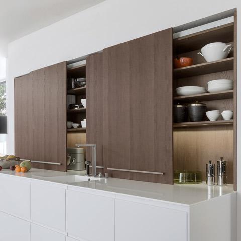 Leicht Küchen Schiebetüren